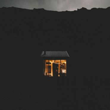 Sweeney's Bothy, Isle of Eigg, Scotland, 2018. Courtesy of Bothy Project. Photo: Andrew Ridley